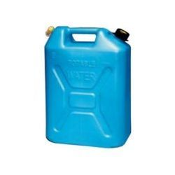 5-Gallon Scepter blue plastic water can