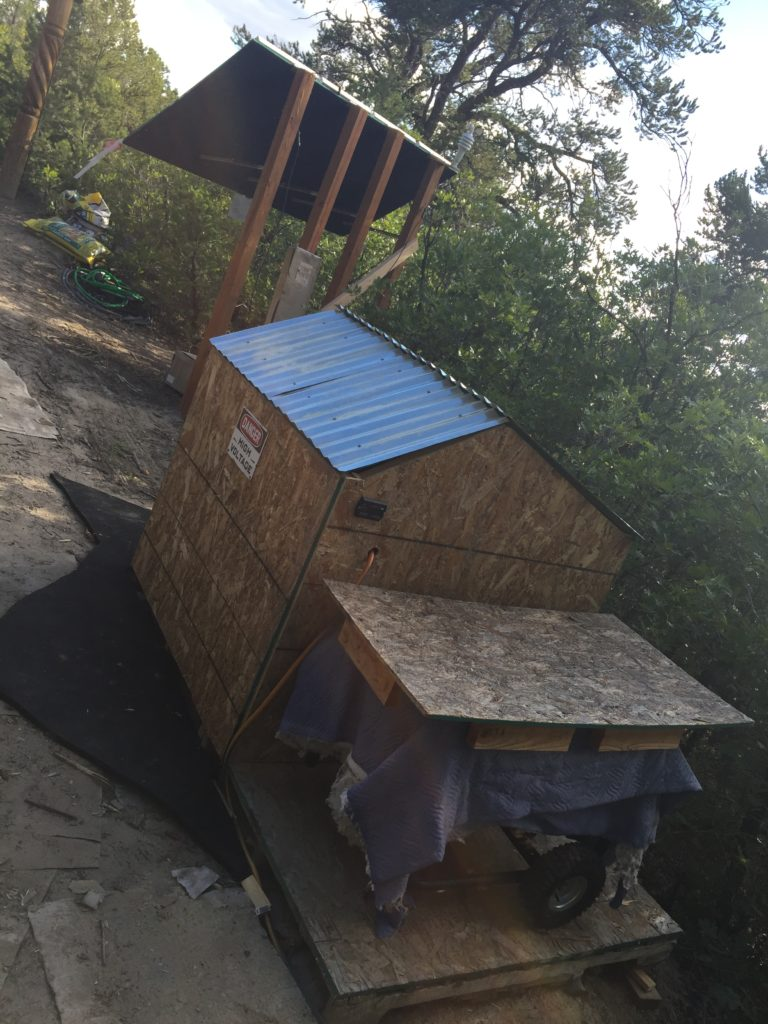 Sahalee Off Grid solar power house 3